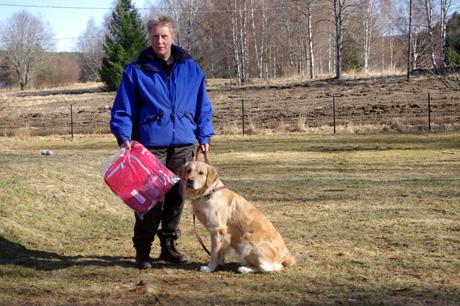 Vinnare F-kampen Kia (B. Cavitas) & Anette